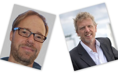 Reinhard Veser und Sebastian Lentz