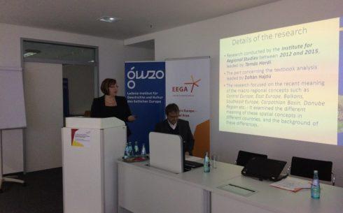Presentation by Tamás Hardi and Andrea Miklosné-Zadar (Budapest)
